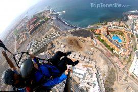 paragliding la caleta adeje