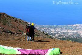 paragliding taucho
