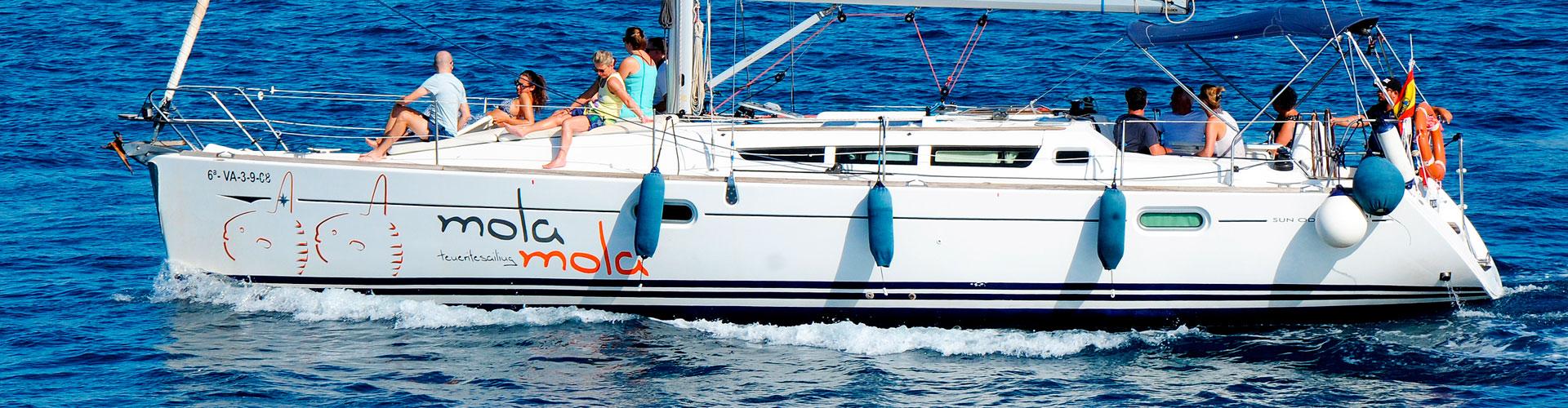Zeilboot Mola Mola