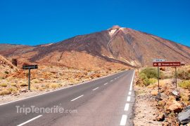 Weg naar Teide
