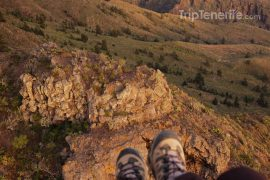 paragliding berg