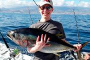 Blij vissen in Tenerife